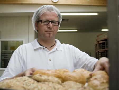 Jürgen Fortmann, Bäckermeister des Kiebitzhofes