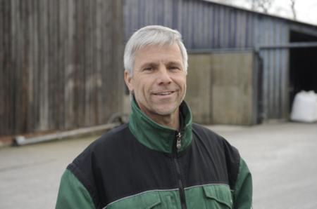 Ralf Winkler, Leiter Bereich Landwirtschaft des Kiebitzhofes
