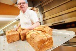 Geändertes Angebot der Bäckerei